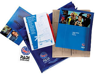 Padi Open Water Student Kit