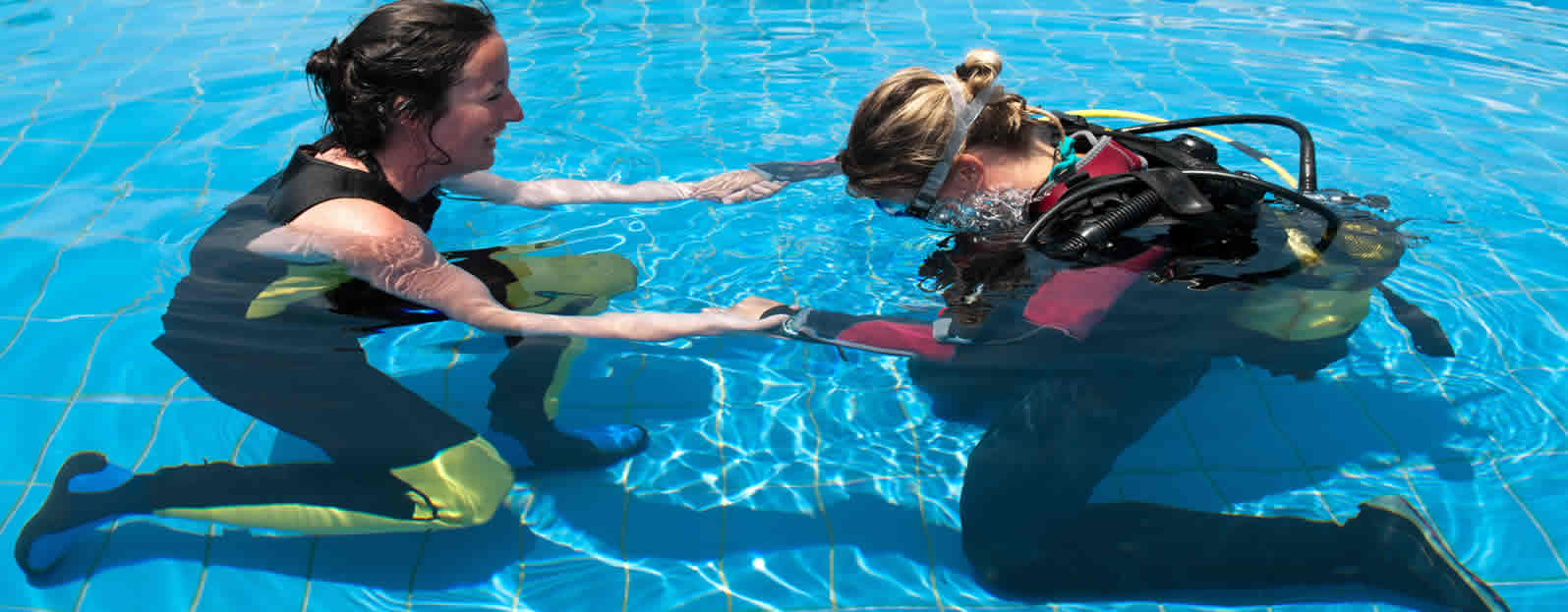 Refresher scuba tuneup program at scuba fusion