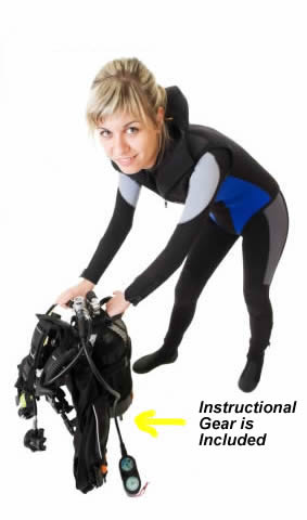 Instructional Gear is Included